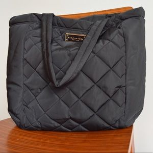 Marc Jacobs Quilted Nylon Tote Bag